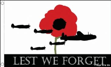 Lest We Forget  (Air Force/RAF)